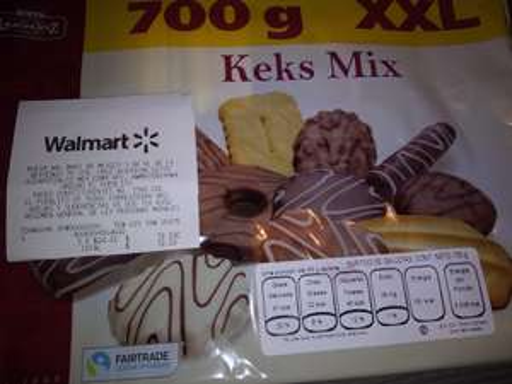 Walmart - Galletas Keks Mix 700 g XXL $24.01