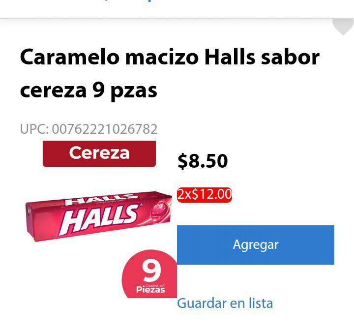 Walmart: Oferta de 2x12 en halls