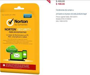 Best Buy On Line: Norton - Norton Security - 1 Dispositivo - 1 Año
