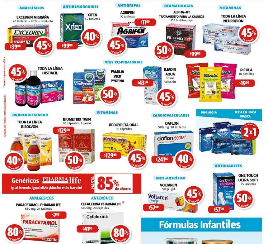Farmacias Guadalajara: descuentos en Agrifen, Bedoyecta, Voltarén, Viagra y más