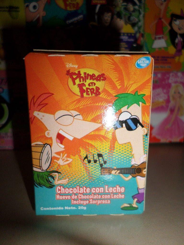 Chedraui Brisas: Huevo de Chocolate Phineas Y Ferb