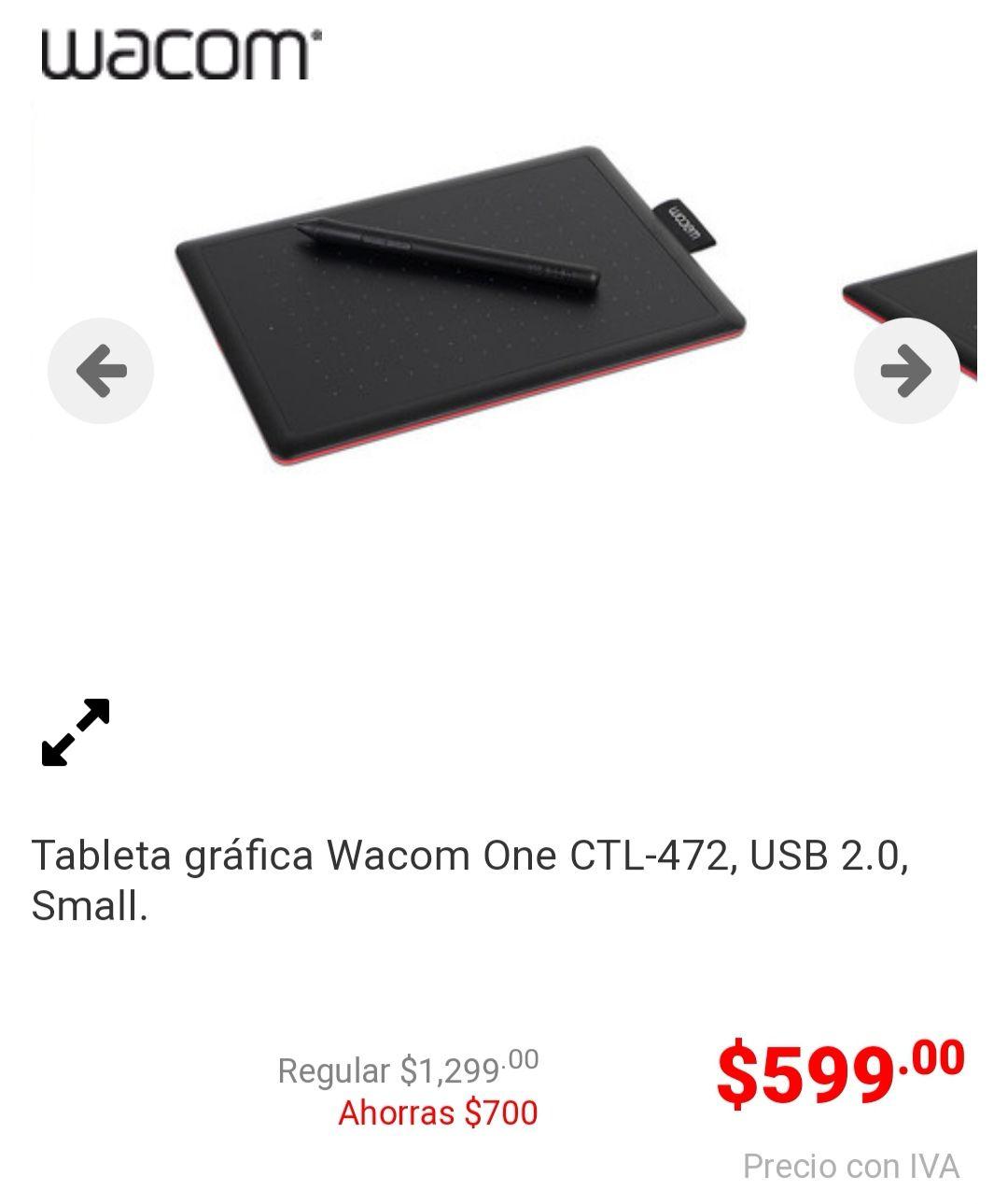 pcel Tableta Wacom CTL-472