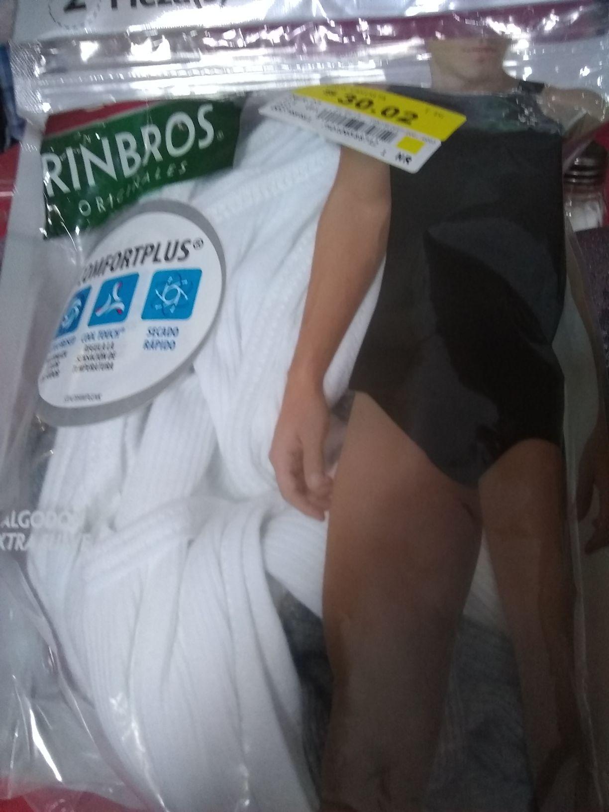 Bodega Aurrerá: Camiseta rimbros, refacción para olla express , brassiere