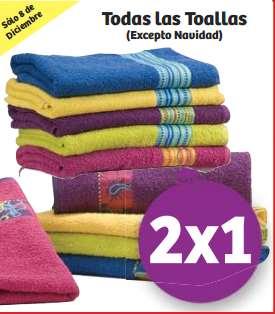 Soriana: 2x1 en todas las toallas y 30% de descuento en baterías y pinos