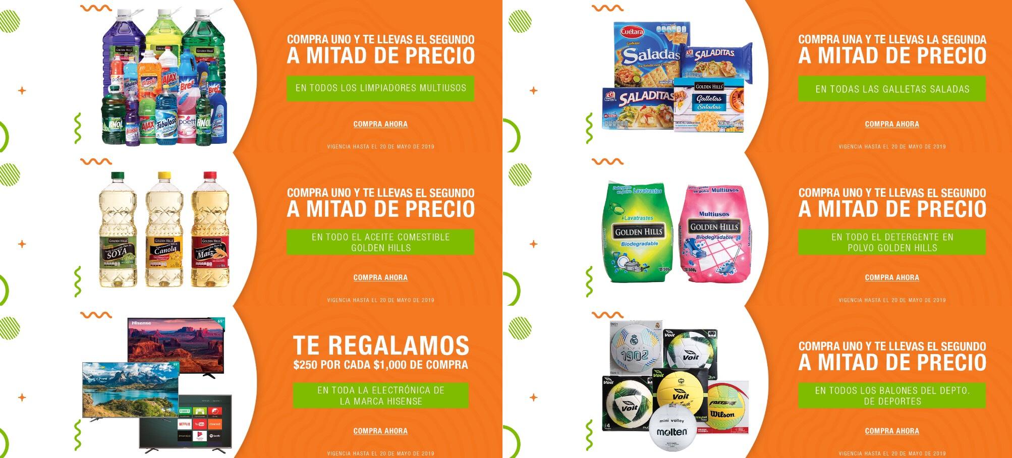 La Comer y Fresko: Ofertas y Promociones de Fin de Semana al 20 de Mayo 2019