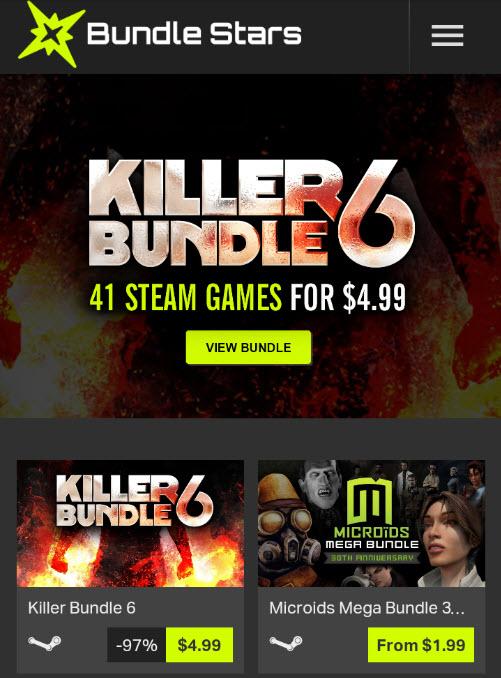Bundle Stars: Killer Bundle 6