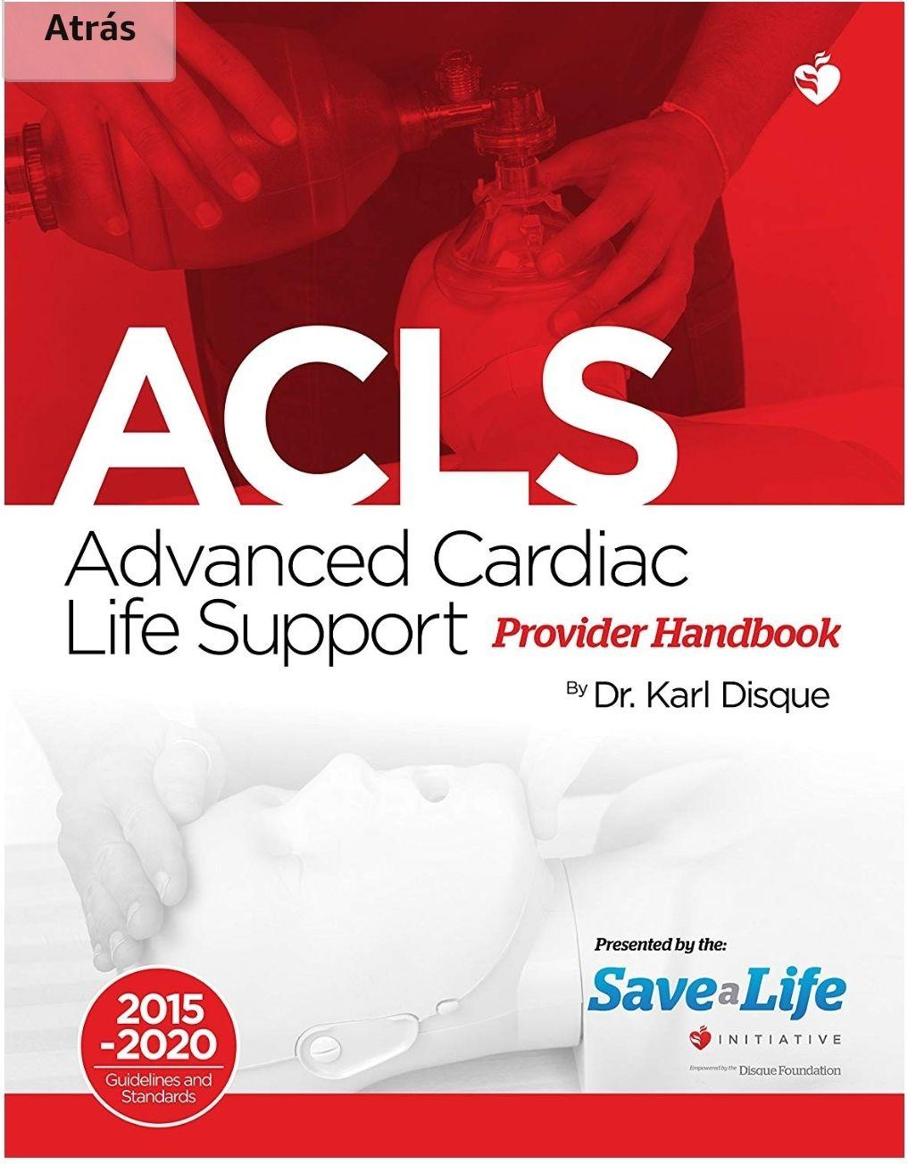 Amazon: ACLS y PALS Edicion Kindle en ingles + cursos online de la NHCP gratis