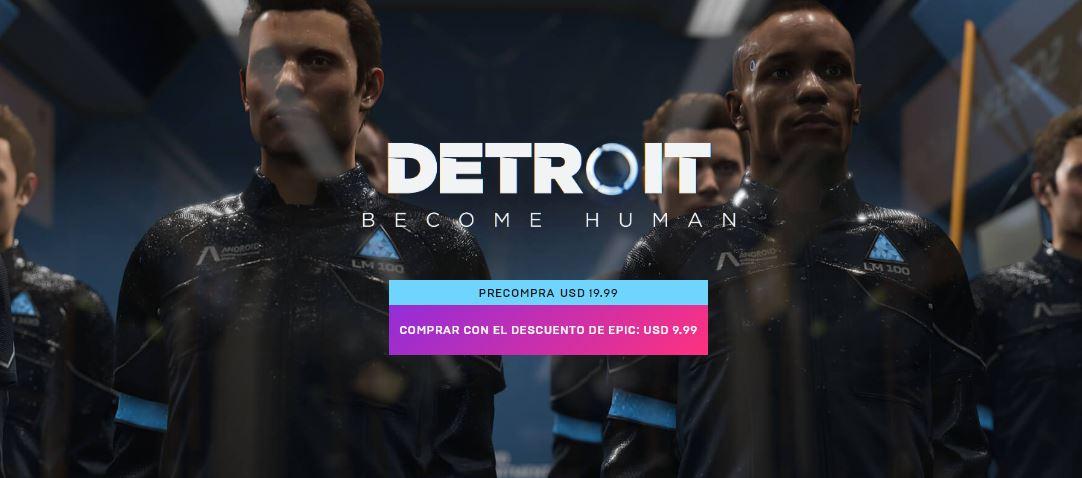 Preventa de Detroit: Become Human