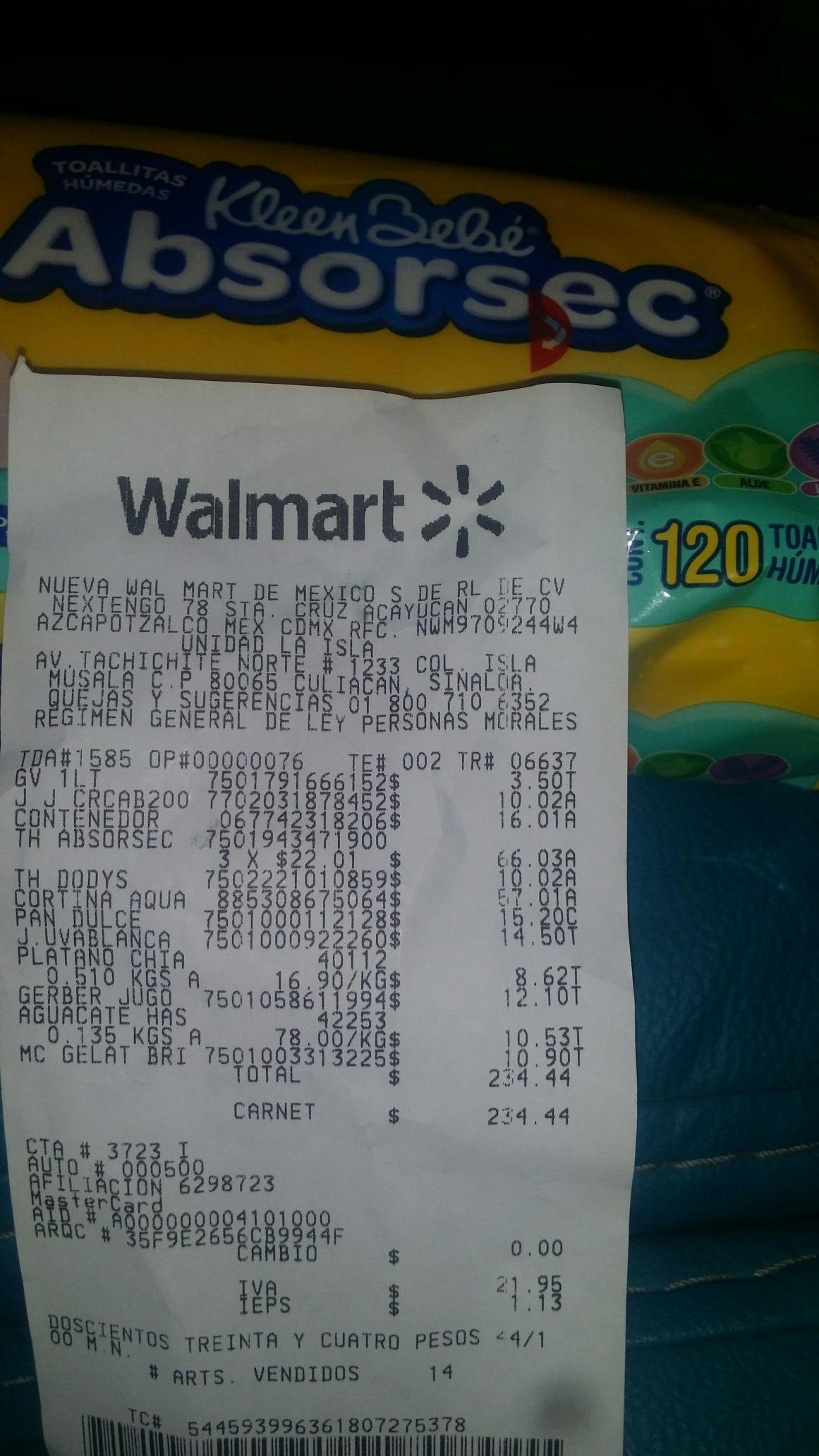 Walmart: Crema Johnson's Baby