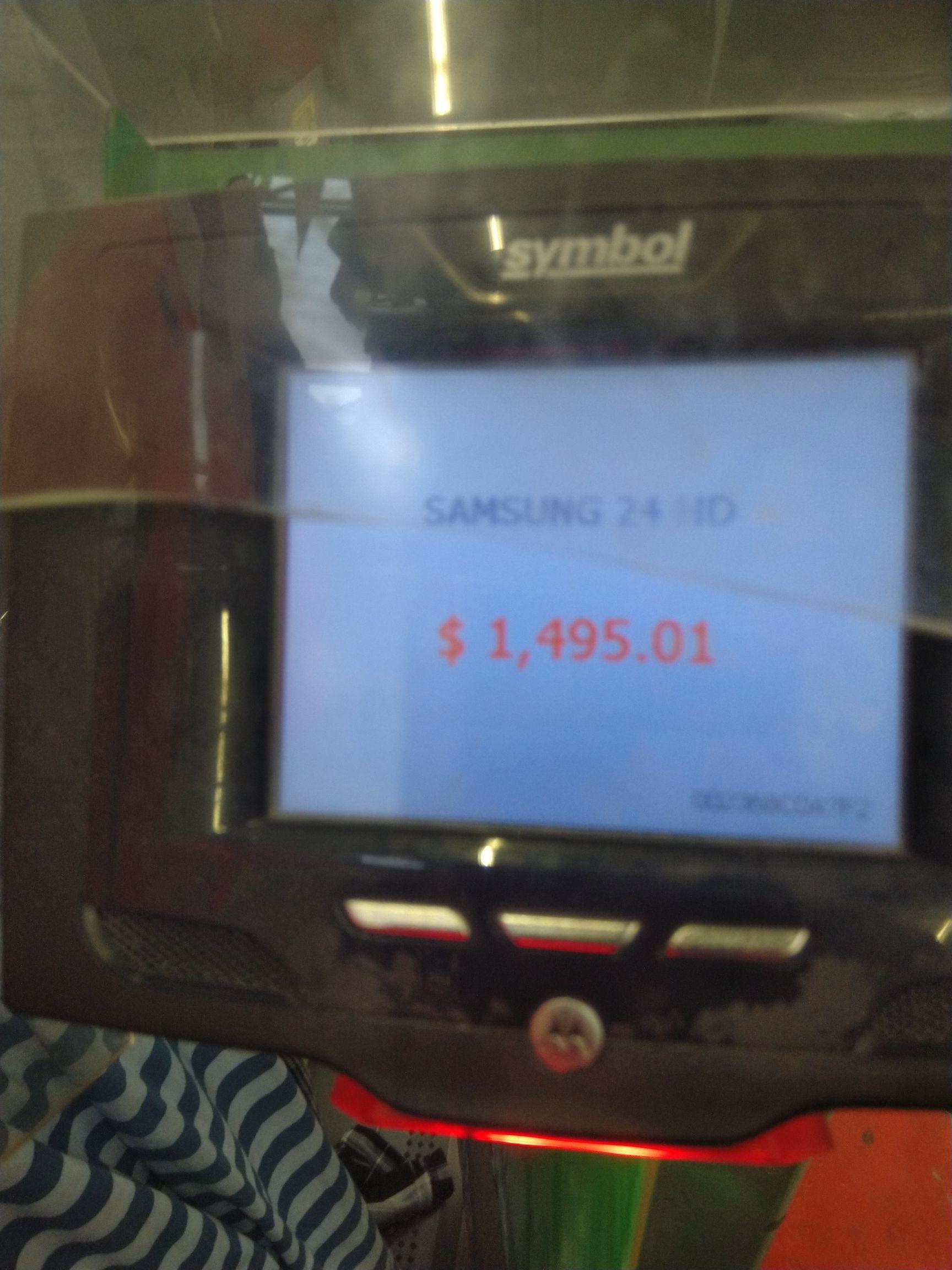 "Bodega Aurrera Mariano Hidalgo ags: TV Samsung 24"""