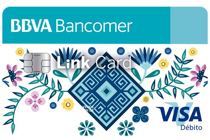 BANCOMER: abre una cuenta link card (gratis) a uno de tus hijos y recibe 100 pesos en la tarjeta