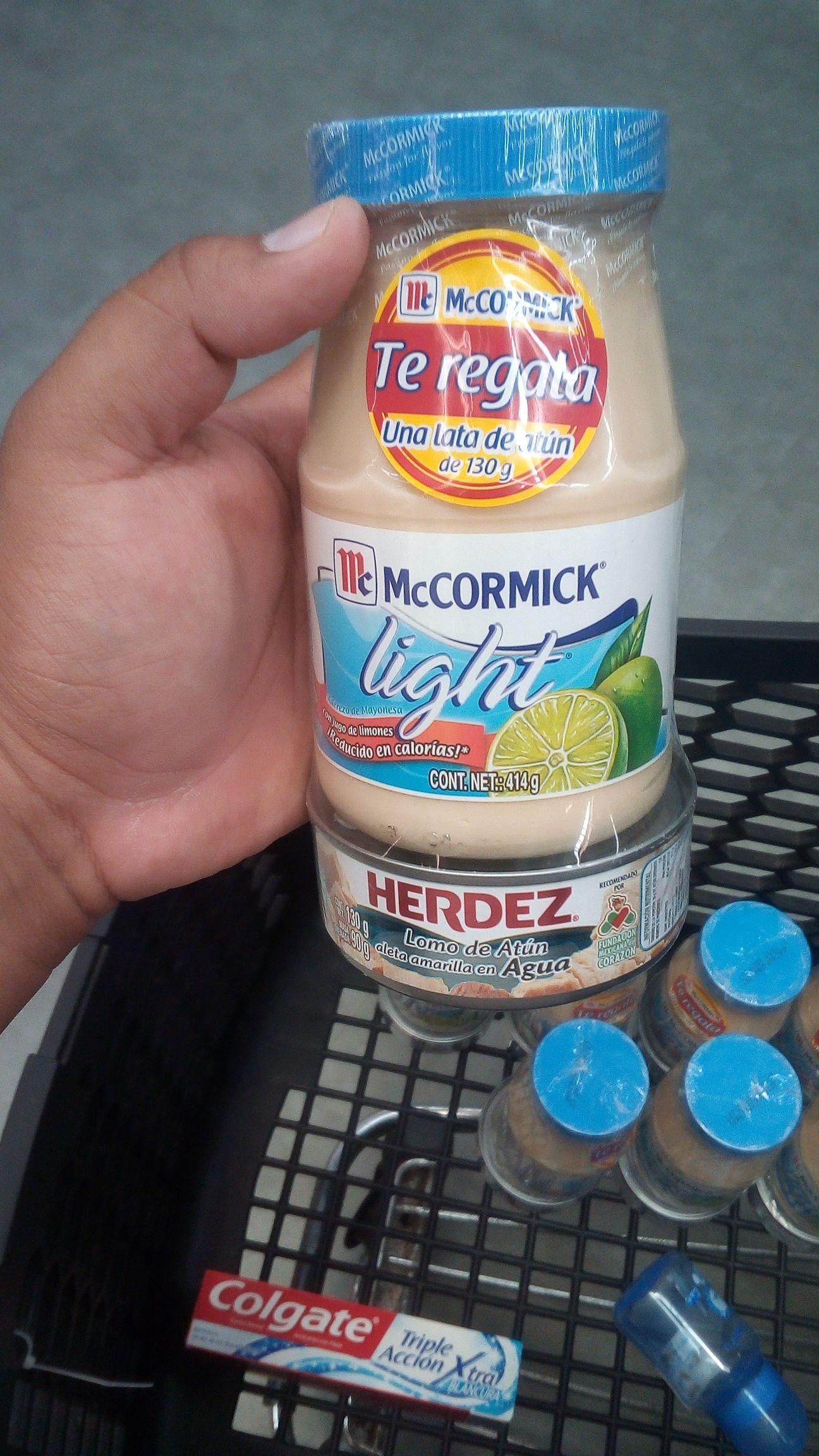 Superama Montejo: Mayonesa Maccormick Light con Atún y más