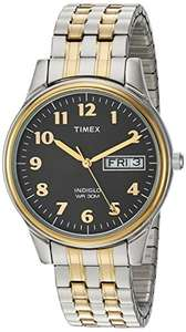 Amazon MX: Reloj Timex 'Charles' de acero inoxidable (Vendido por Amazon USA)