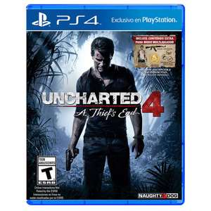 Elektra en línea: Uncharted 4 - A Thief's End para PS4