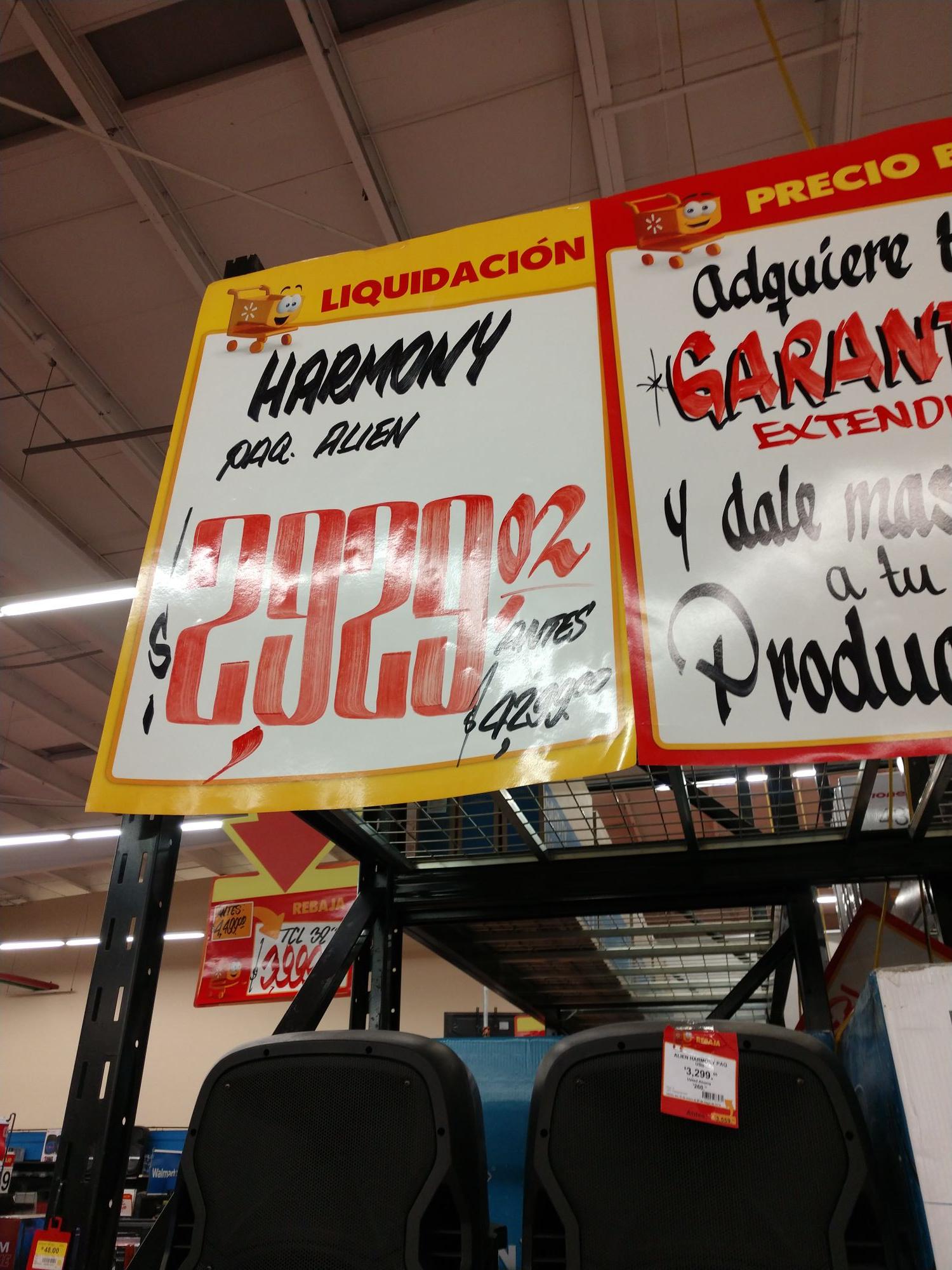 Walmart: Bocina Alien Pro Harmony