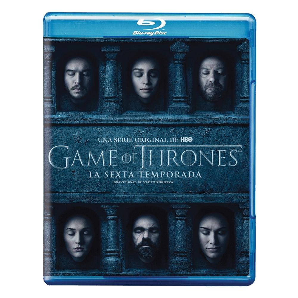 Walmart en línea: Blu-ray o DVD Sexta temporada de Game Of Thrones