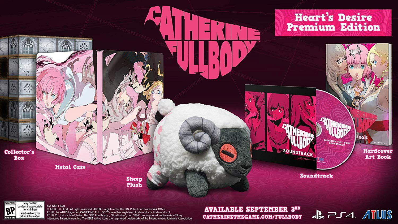 Amazon: Catherine Full Body premium limited edition PS4
