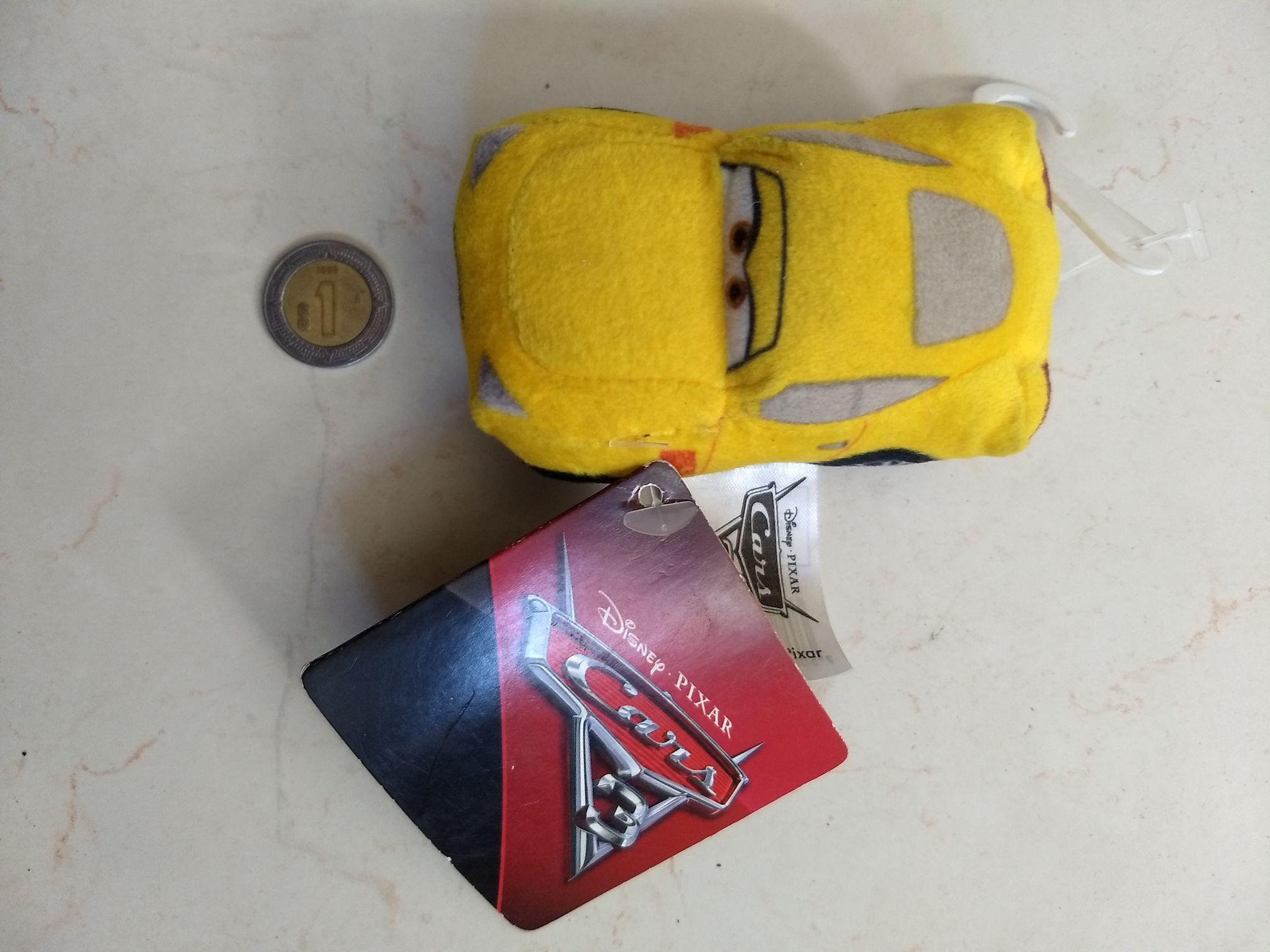 Chedraui Zapopan: mini peluche de Cars $8.60, Rollo adhesivo $9