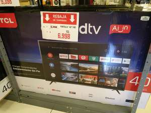 """Suburbia: Smart TV TCL 40"""" Android TV"""