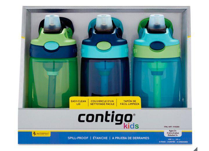 Costco: Contigo Kids, Juego de 3 botellas