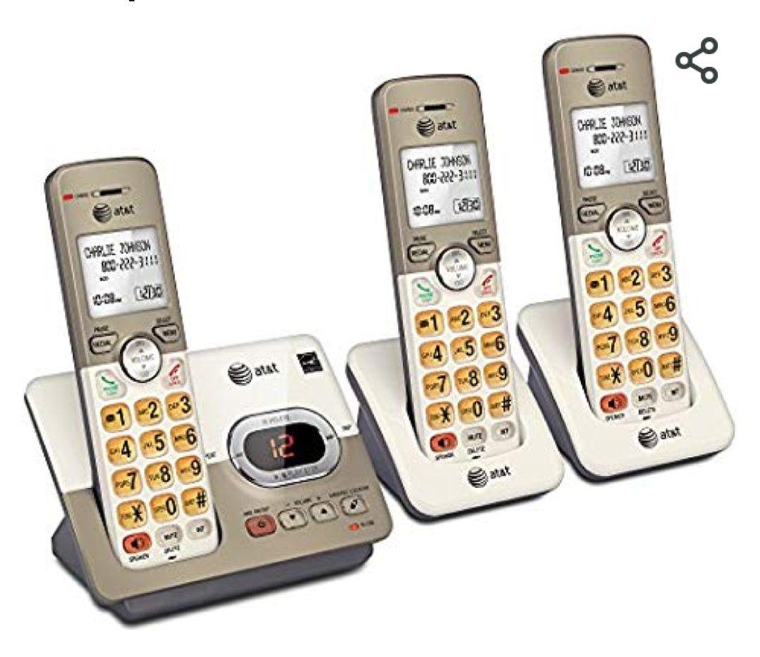 Amazon MX: Teléfono inalámbrico ATT de 3 auriculares a mitad de precio. (Vendido por Amazon USA)