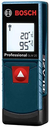 Amazon MX: Bosch BLAZE GLM 20 (65 FT/20 Metros) Medidor de Distancia Láser (Vendido y Enviado por Amazon USA)