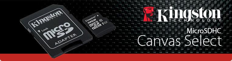 PCEL: Memoria Kingston MicroSDHC UHS-I U1 de 32 GB, clase 10, Incluye adaptador SD.