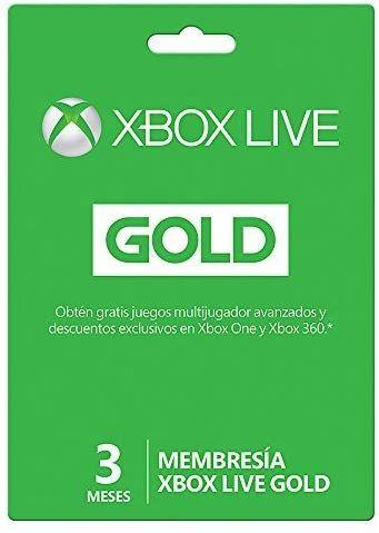 Amazon Mx: Xbox Live Gold  3 meses ( + 3 meses + 1000 coins Apex Legends de Regalo )