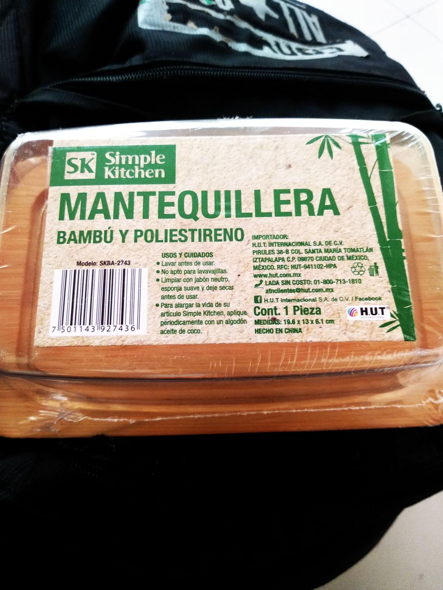 Walmart:  jugo cosecha pura 1litro (durazno) y mantequillera ya publicada