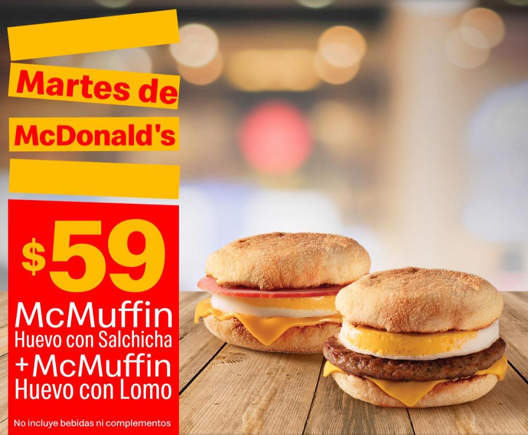 McDonald's: Martes de McDonald's 21 Mayo