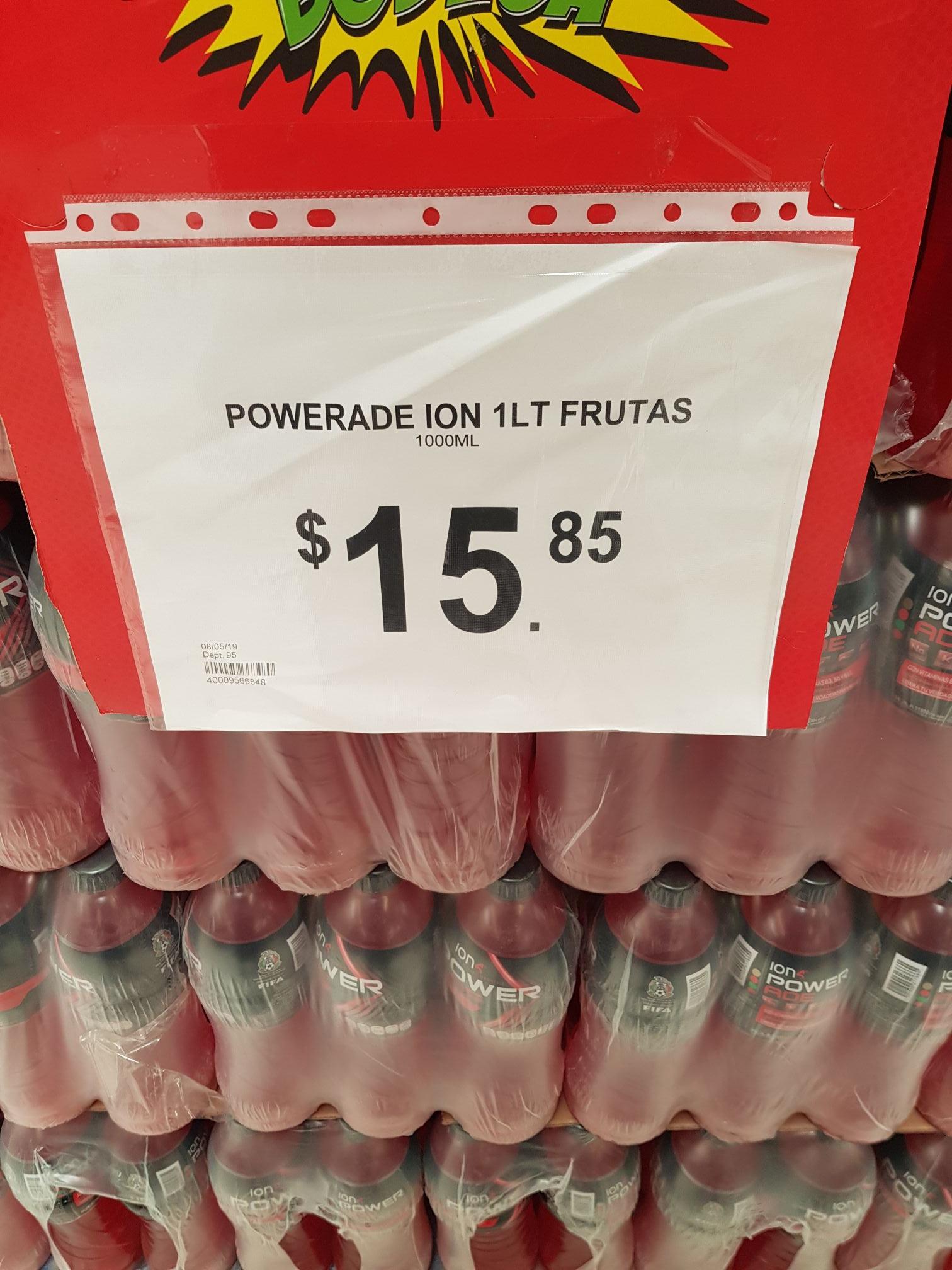 Bodega Aurrerá: Powerade ION de varios sabores