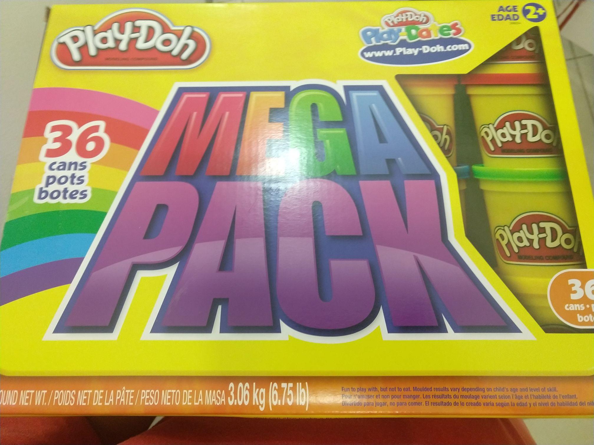 Del sol: Play doh 36 latas mega pack