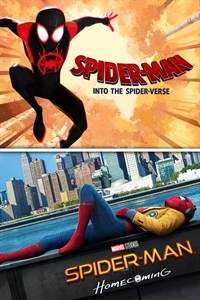 Microsoft Store: Spider-Man: Into The Spider-Verse y Spider-Man: Homecoming paquete de peliculas en 4K UHD o 1080p