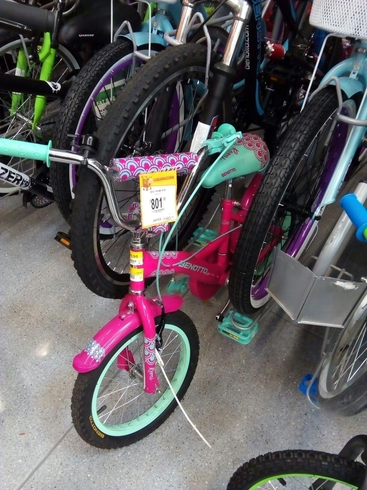 Walmart Nichupte: bicicleta Bennoto