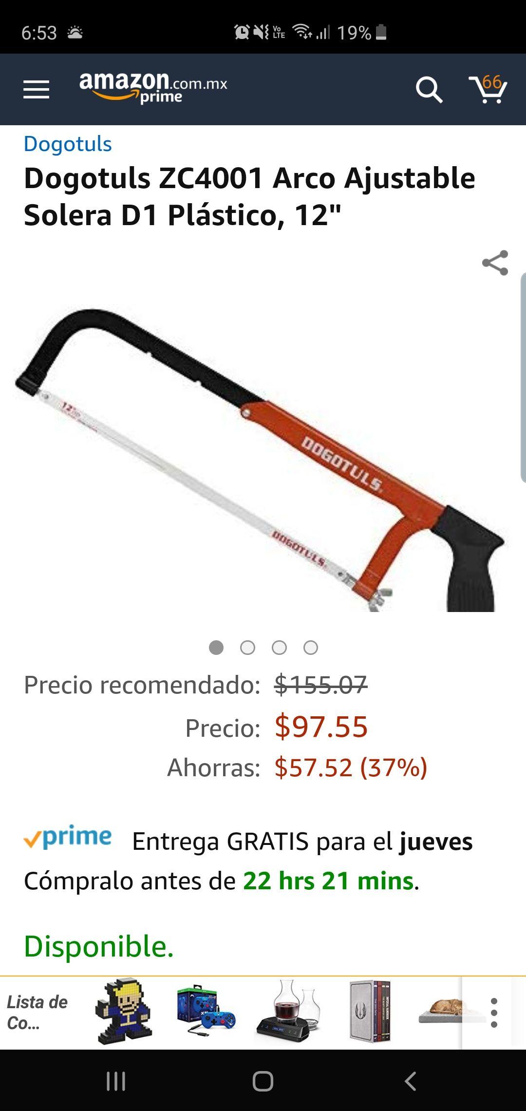 Amazon: arco ajustable