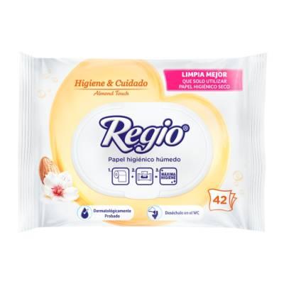 Walmart 3 paquetes de 42 hojas Regio Húmedo