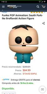 Amazon Funko Pop South Park Ike Broflovski