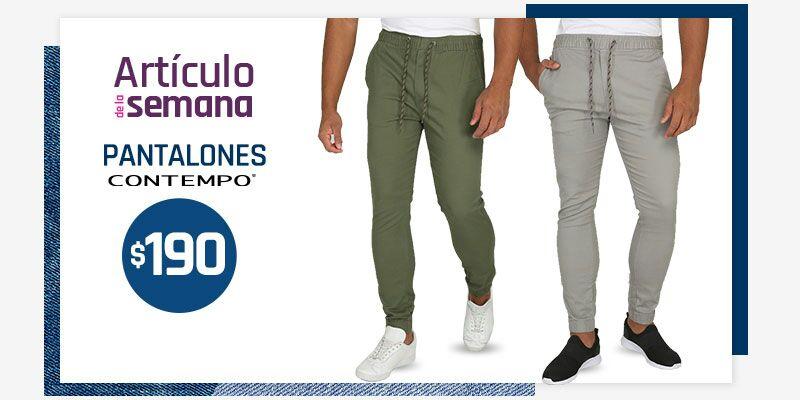 Suburbia: Artículo de la Semana al Domingo 26 de Mayo: Pantalón tipo Jogger Contempo $190