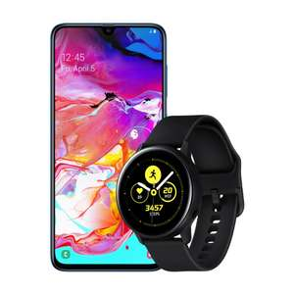 Samsung: Galaxy A70 + Galaxy Watch Active