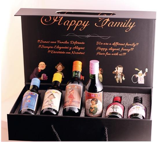 Superama: última liquidación Estuche de vinos HAPPY FAMILY
