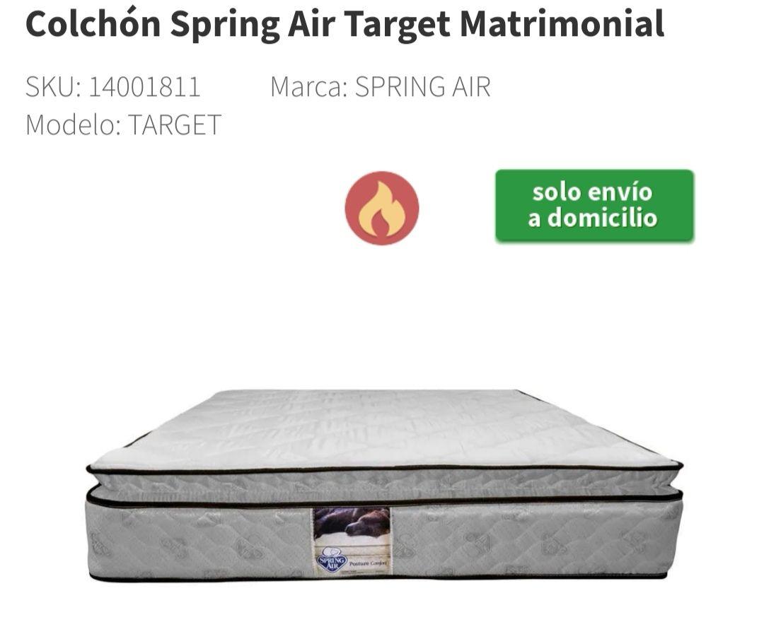 Elektra: Colchón Spring Air Target King Size