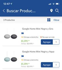 Sam's Club: Google home mini (2 x $1299)