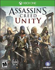 Amazon:  Assassin's Creed Unity - Xbox One - Limited Edition