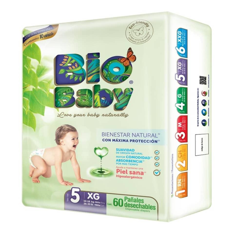 Hot Days 2019 Walmart: Pañales Bio Baby Etapa 5 Unisex 180 Piezas