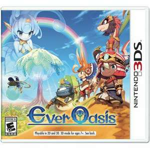 Linio: Ever Oasis 3ds
