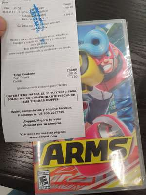 Coppel: ARMS Nintendo Switch