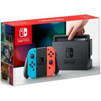 Hot Days 2019 Walmart: Consola Nintendo Switch Neón (Pagando con Bancomer o Inbursa)