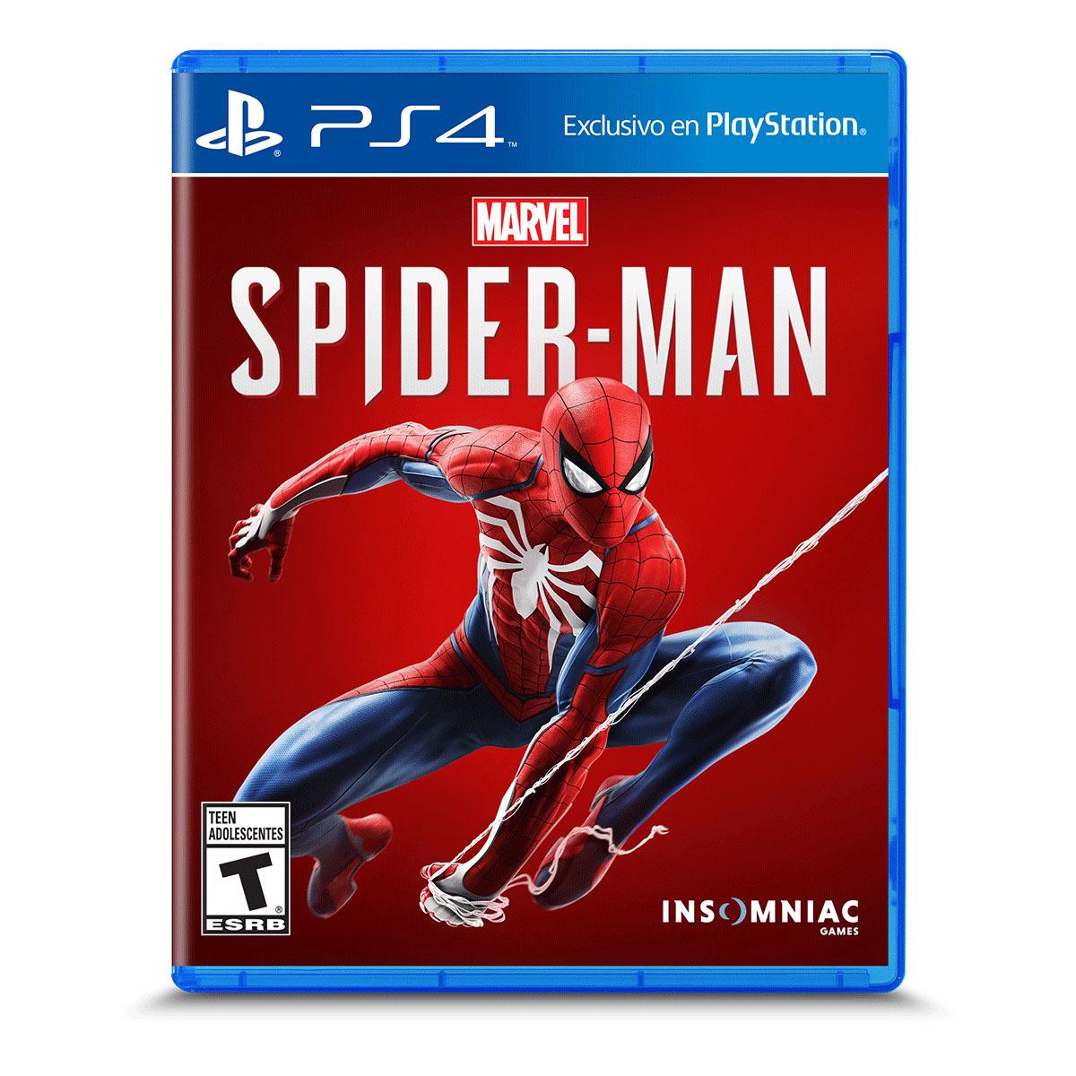 Chedraui: Spider-man para PS4