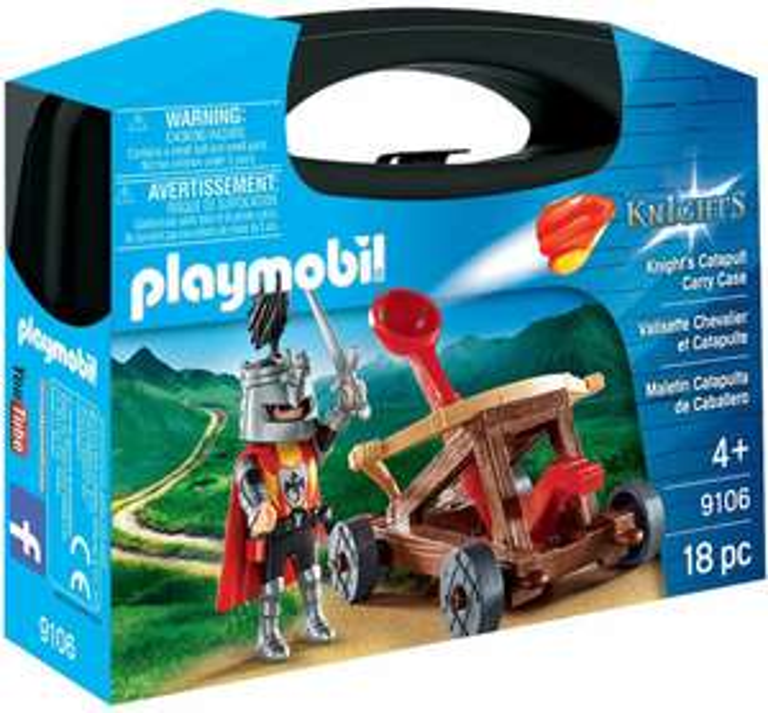 Amazon: Playmobil Maletín Catapulta de Caballero