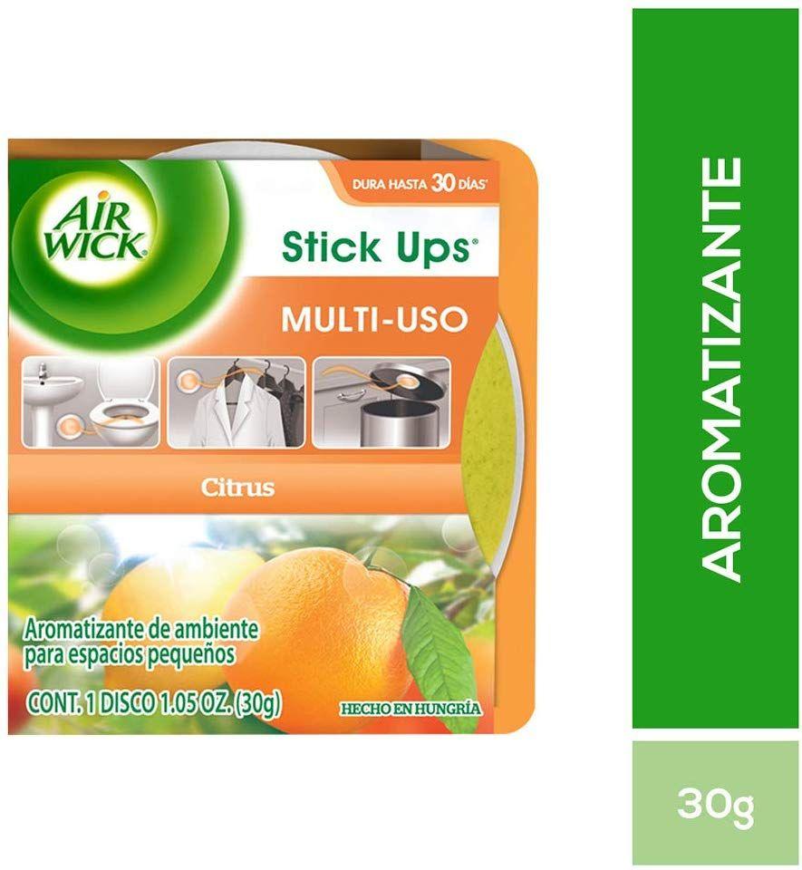Amazon: Aromatizante Air Wick Stick Ups, Citrus, 30g